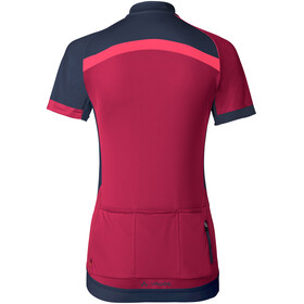 VAUDE Pro II Jersey Women crimson red